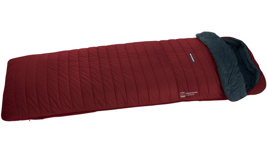 Mammut Creon Down 3-Season - Sac de couchage - 180cm rouge